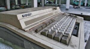 旧型パソコン シャープ