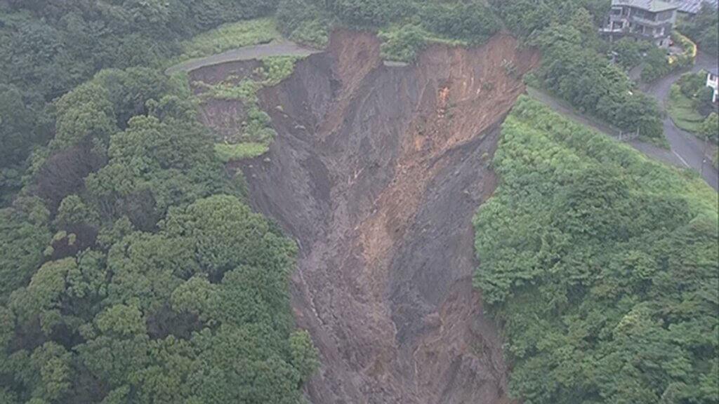 熱海土石流、盛土崩壊